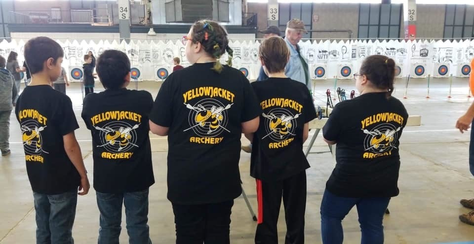 First Yellowjackets Archery Competition!